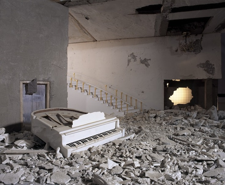 Wafaa Bilal, Piano, Ashes Series, 2003-2013
