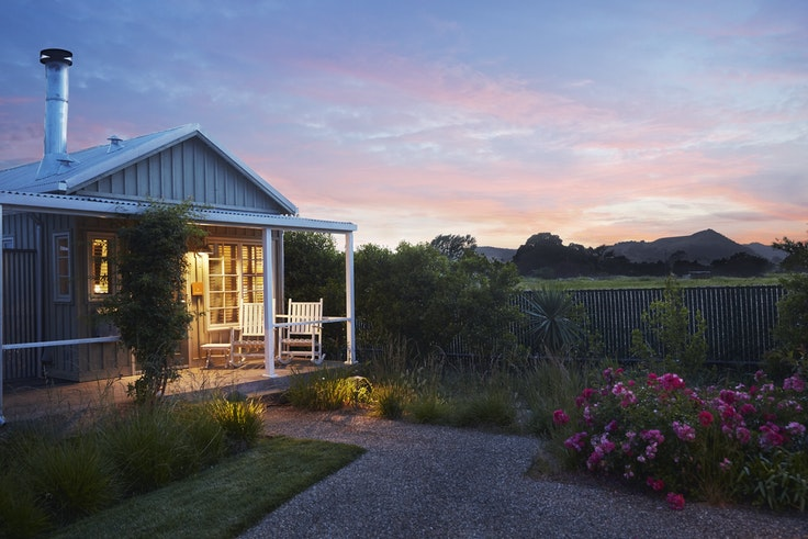 A cottage at Carneros Resort and Spa