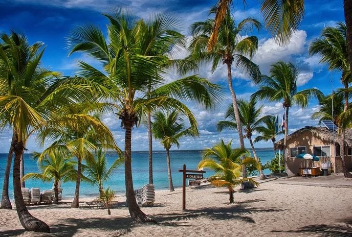 Relax on sunny, sandy beaches near Santo Domingo, or go farther for other swoonworthy beaches.