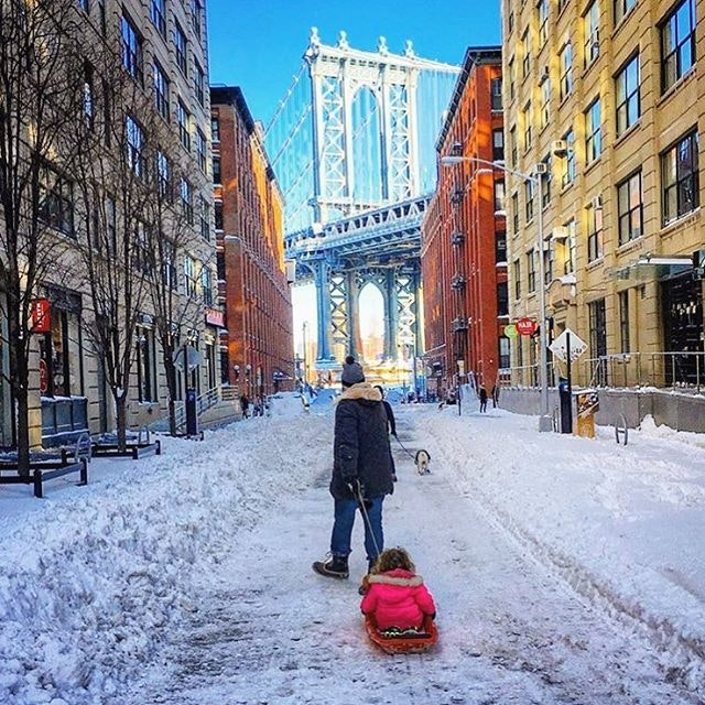 We hope you're done shoveling, NYC!