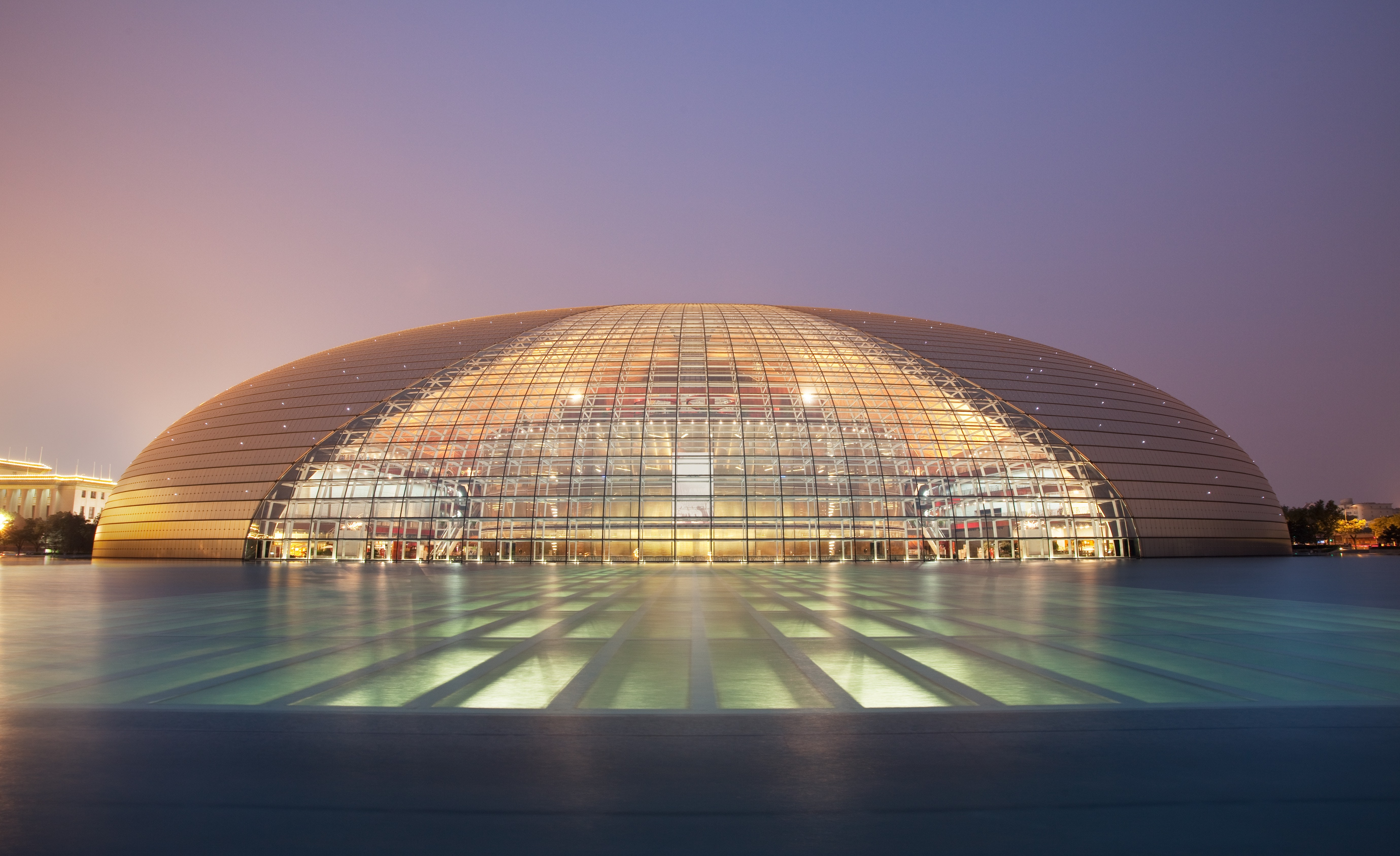 The National Center for the Performing Arts is also known as the Beijing National Grand Theatre.