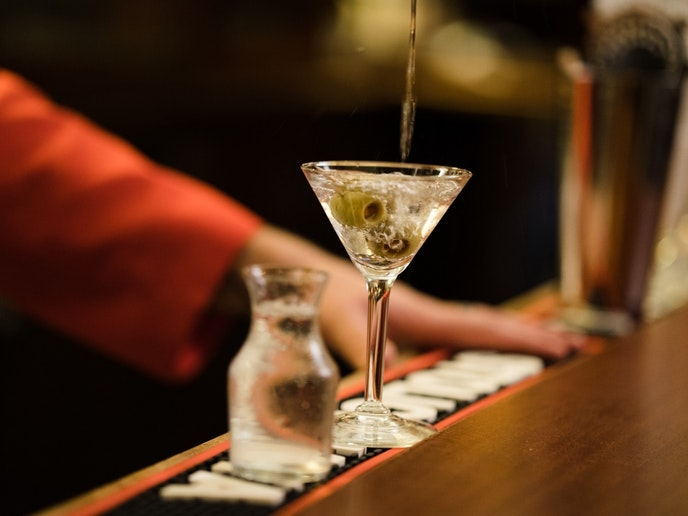 Martinis are the main attraction at Musso's bar: More than 55,000 martinis were reportedly served during 2018.