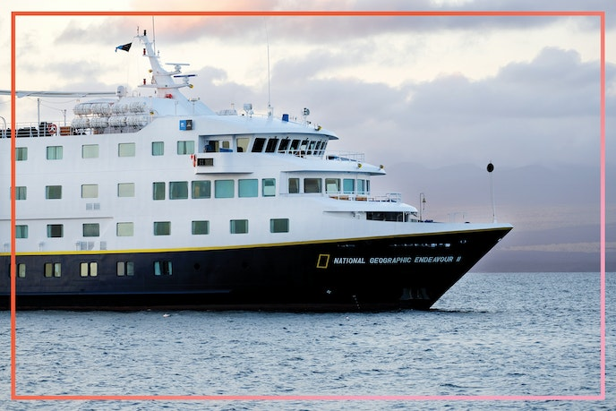 """Lindblad Expeditions operates two ships in the Galápagos, including the """"National Geographic Endeavor II."""""""