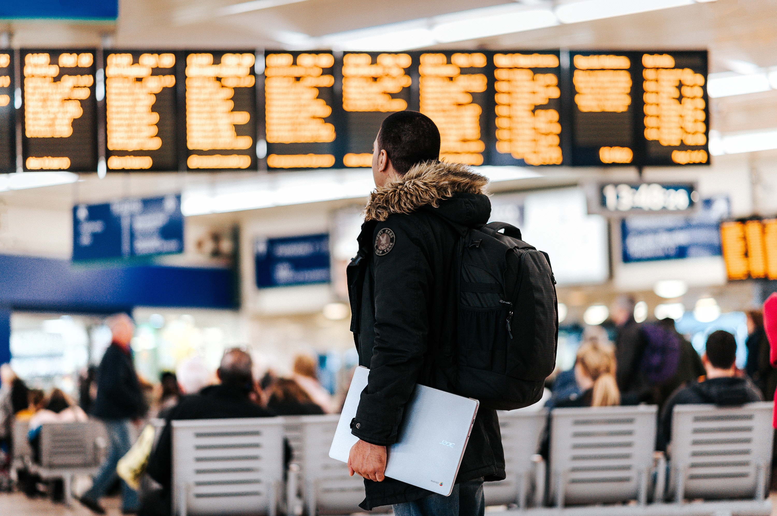 Airlines can use AI to predict when more people will fly, or when weather might create more traffic to the airport.