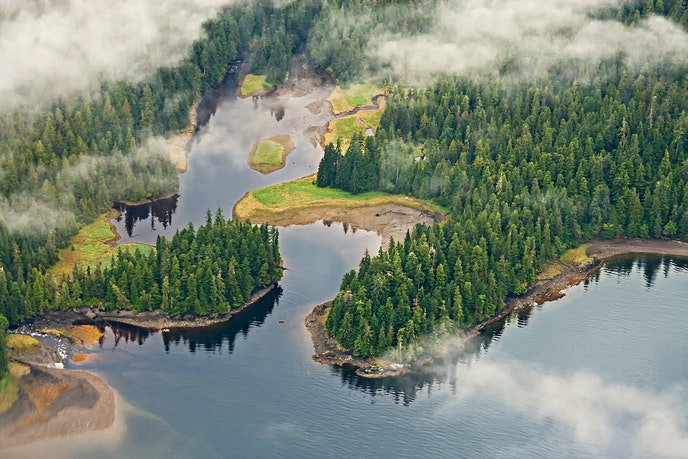 Misty Fjords National Monument in Tongass National Forest, Alaska