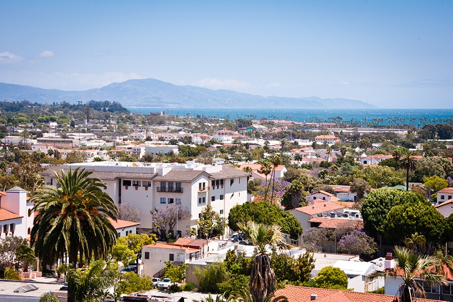 Visit Santa Barbara for design-forward accommodations, top-notch eats, and some of California's best wine.