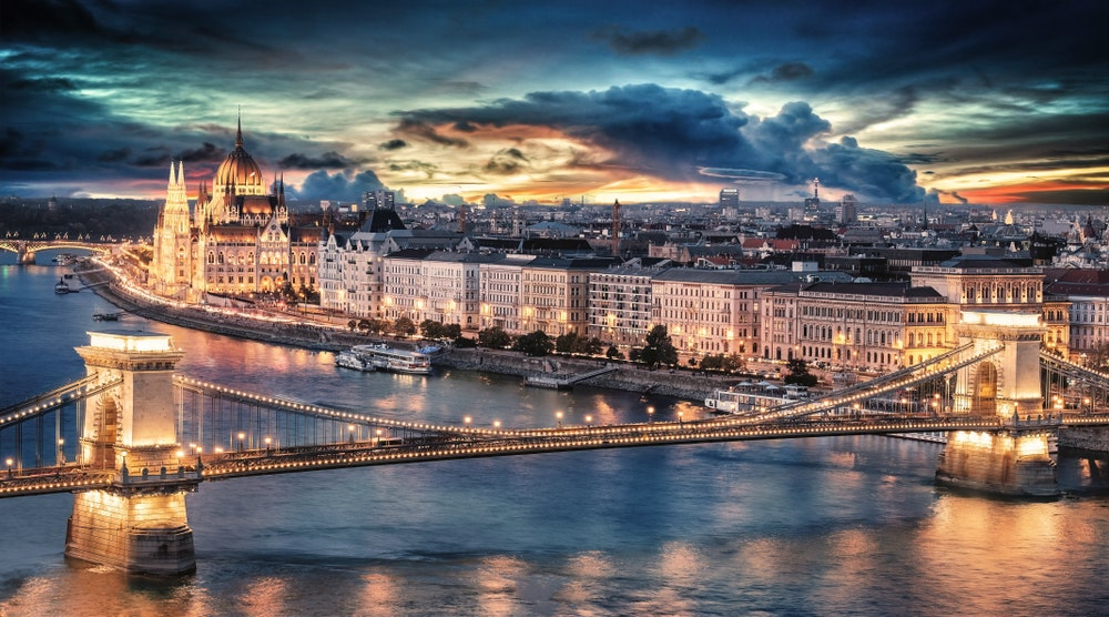 The banks of the Danube River in Budapest overflow with historic sites.