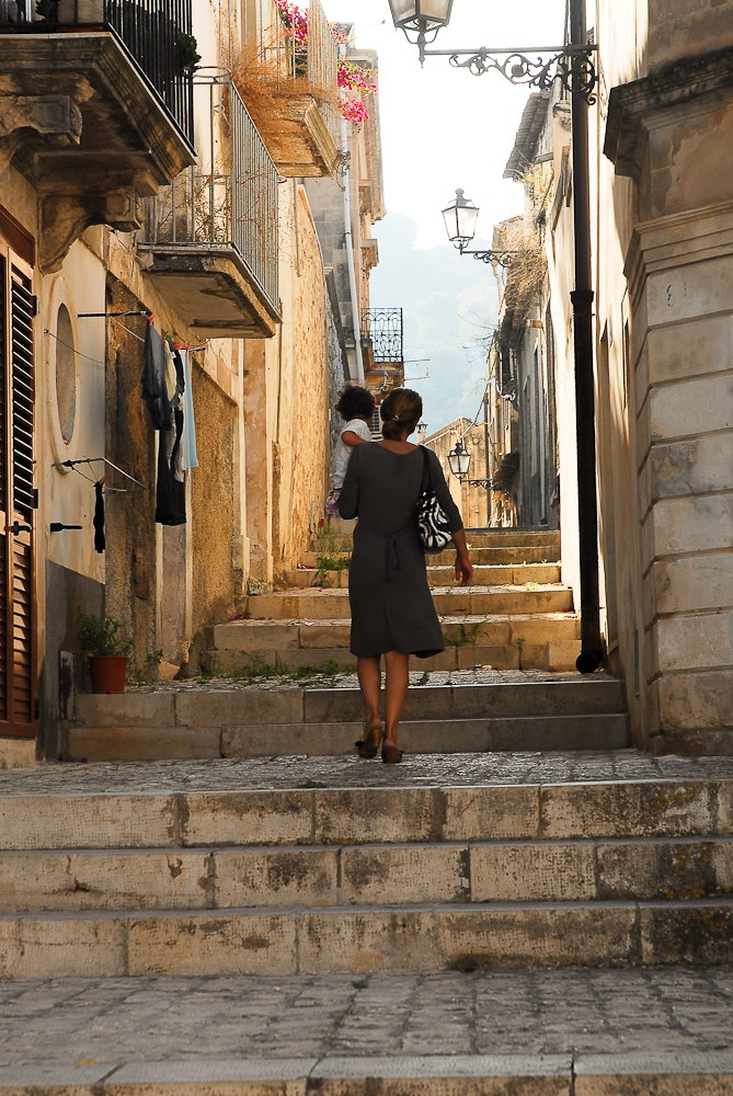 The small town of Scicli, just outside Ragusa, retains a slow pace that offers a real glimpse of traditional Sicilian life.
