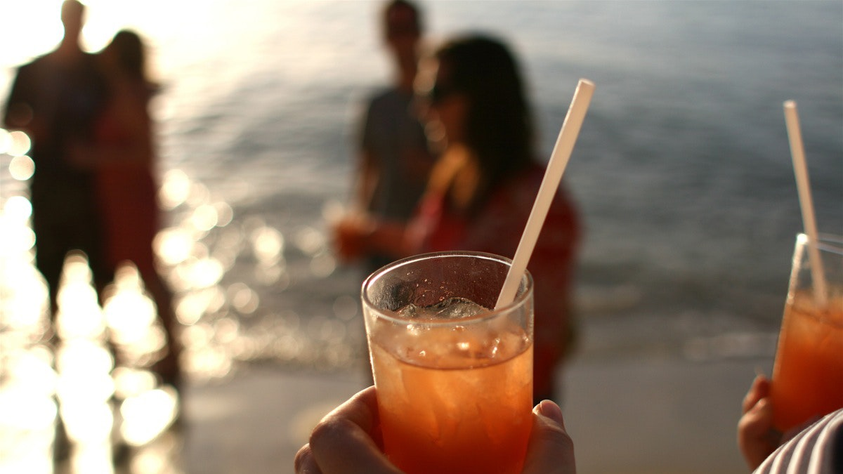 No matter how it's made, a rum punch tends to taste best seaside.