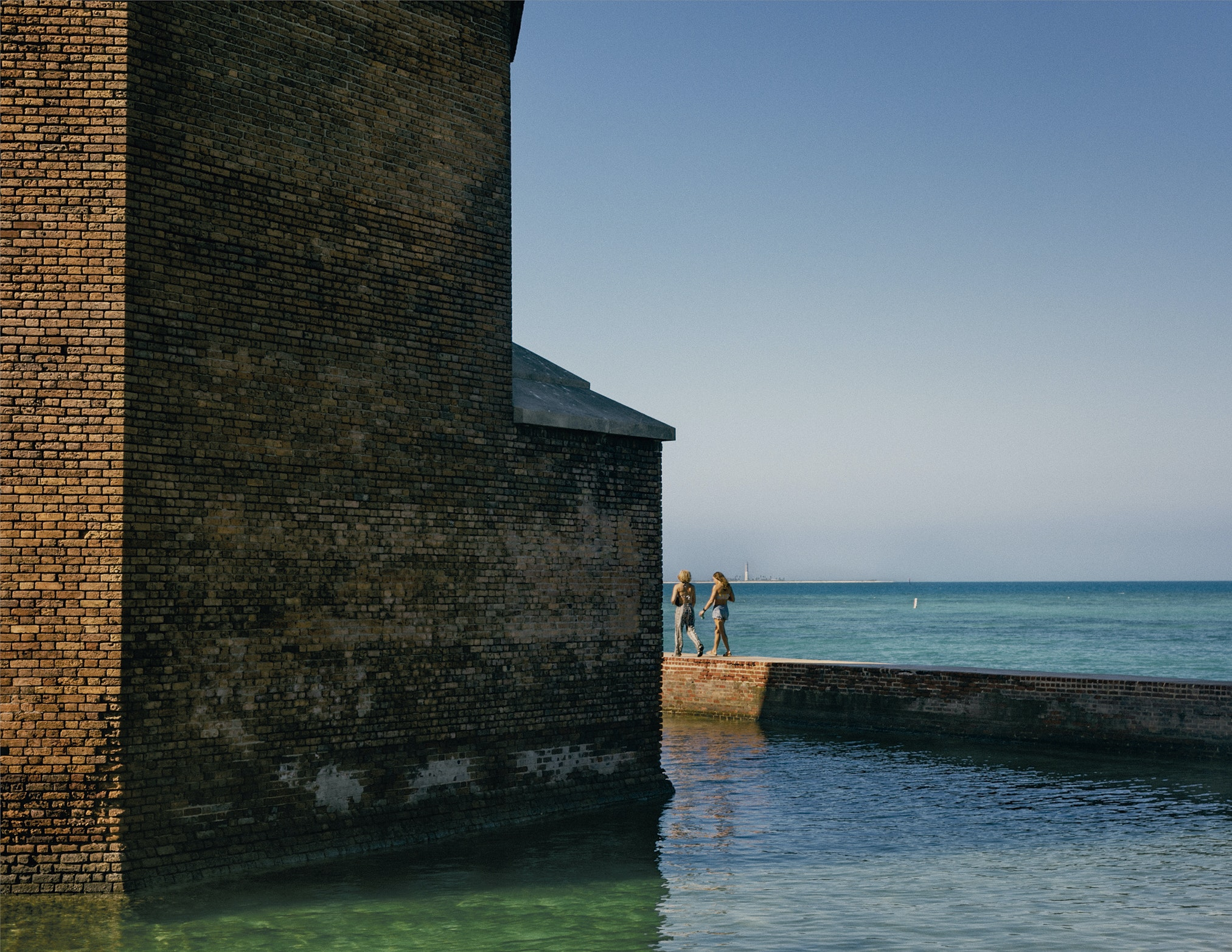 Dry Tortugas is home to Fort Jefferson, a massive brick hexagon built in the 1800s.