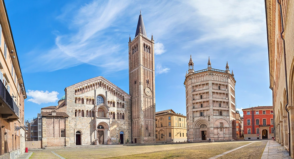 Just a two-hour train ride from Florence, Parma offers charming street scenes and unparalleled wine bars.