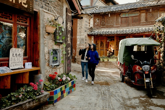 China is among the top destinations for heritage travel.