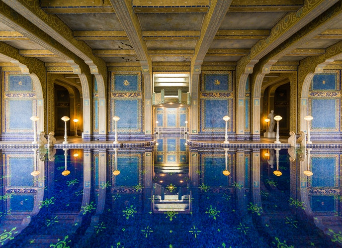 The Roman Pool is also open for select dates this summer.