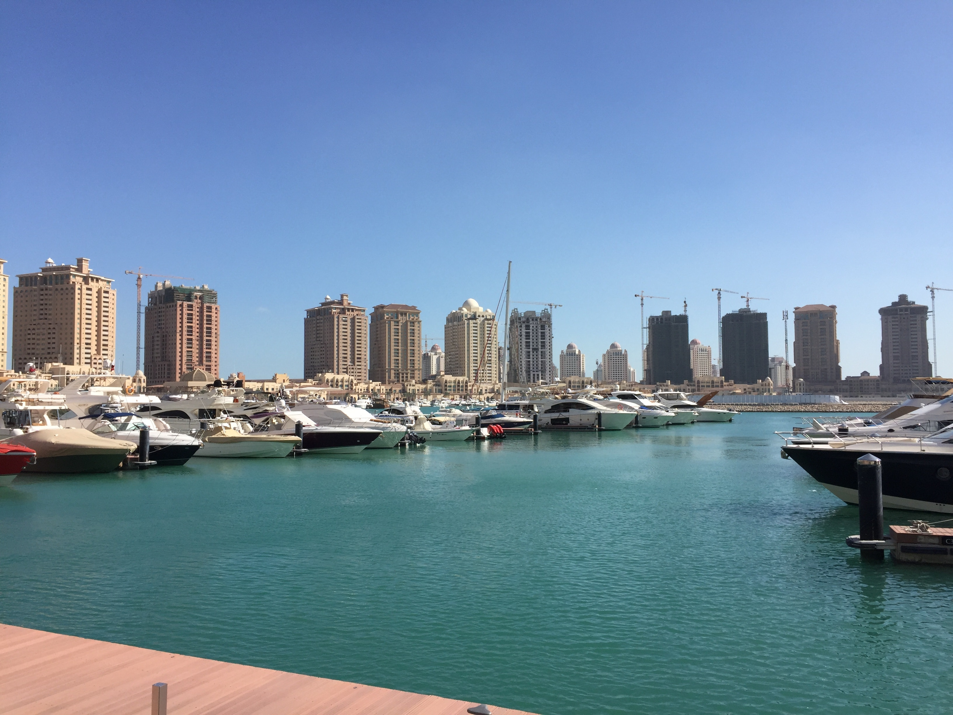 The Pearl, Qatar's own artificial island