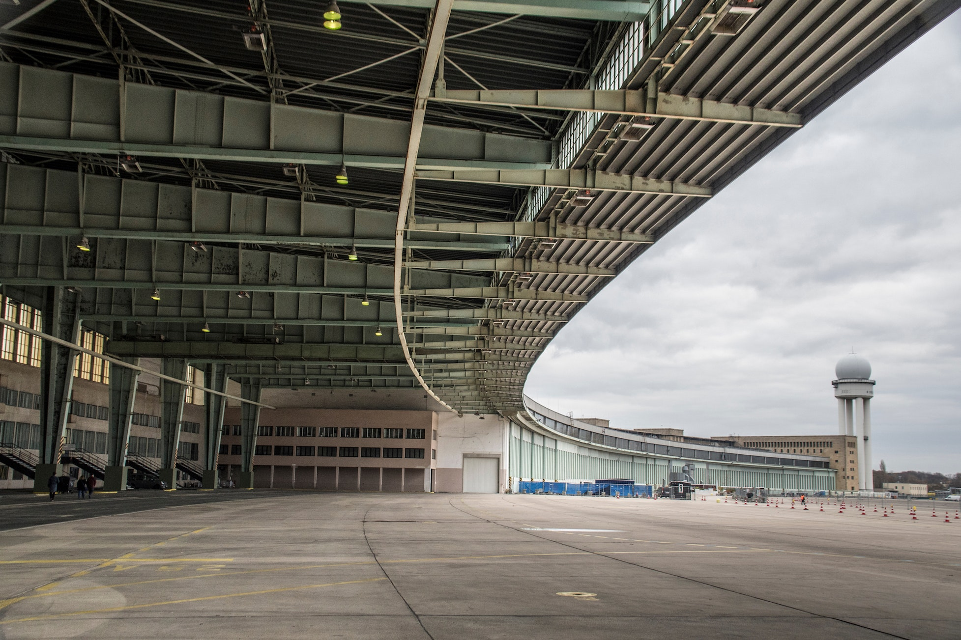 The decommissioned Tempelhof Airport was the site of Nazi rallies and the Berlin Airlift.