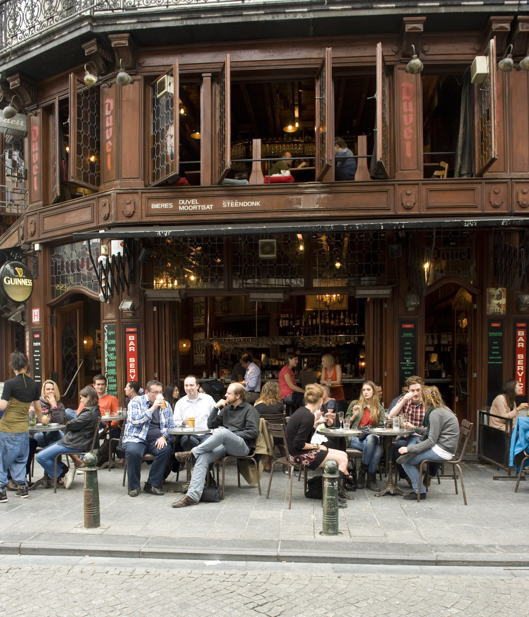 You can taste the diversity of Belgian beers at Brussels bars like Mappa Mundo (pictured above).