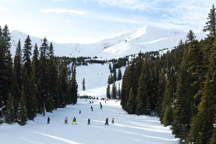 Spring skiing means plenty of powder and kinder temperatures.