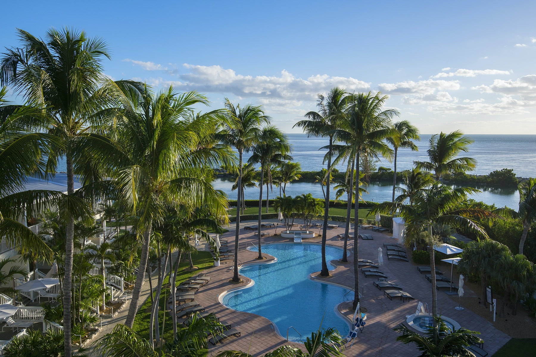 The Gulf of Mexico, a private lagoon, and six swimming pools keep you refreshed at Hawks Cay.