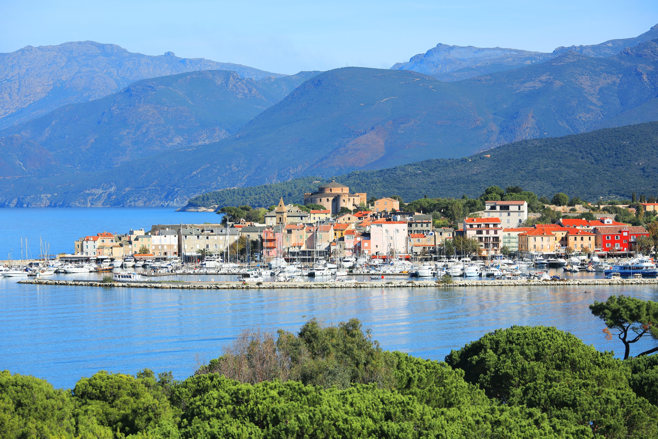 St. Florent is a great starting point for exploring Corsica.