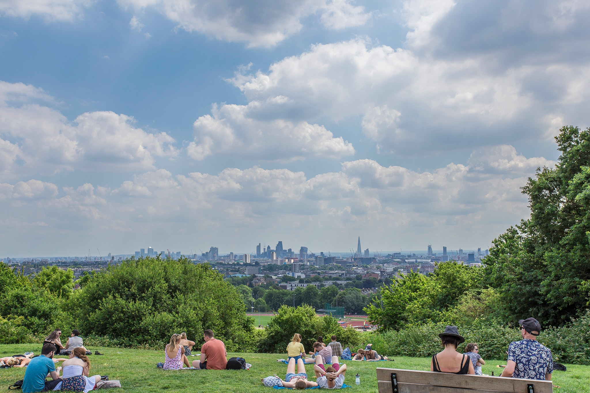 Get lost in tranquil nature with a trip to Hampstead Heath.