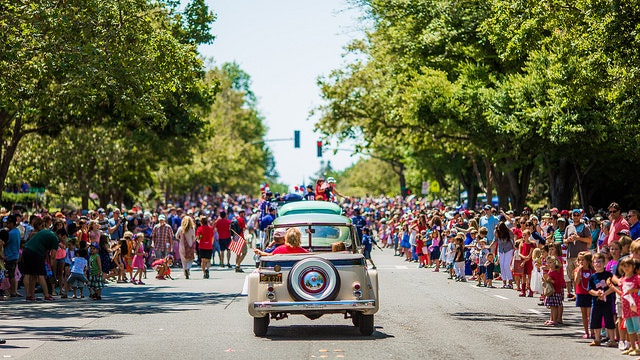 Piedmont's Fourth of July Parade.