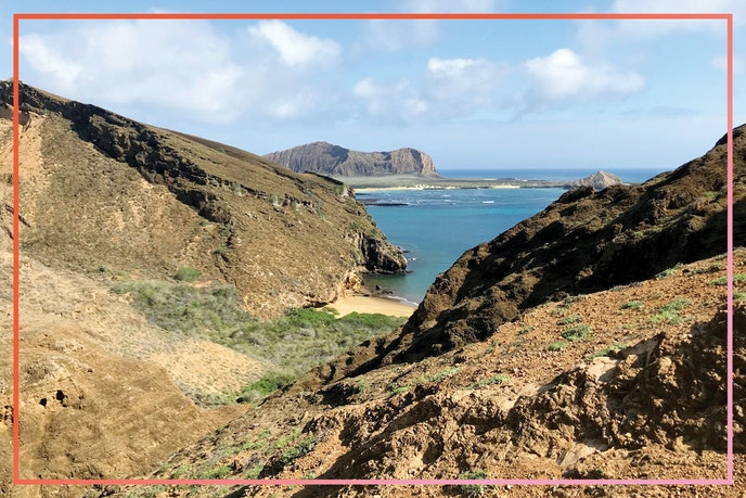 Because Galápagos National Park limits the number of tourists on each island, we had the volcanic terrain of Punta Pitt on San Cristobal Island to ourselves.