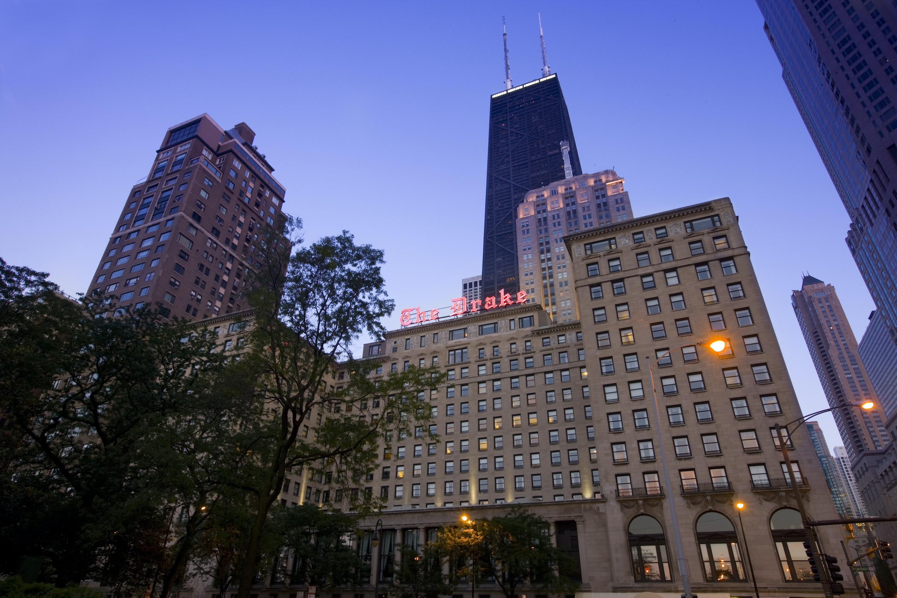 Chicago's iconic The Drake is part of the Hilton Hotels & Resorts portfolio.