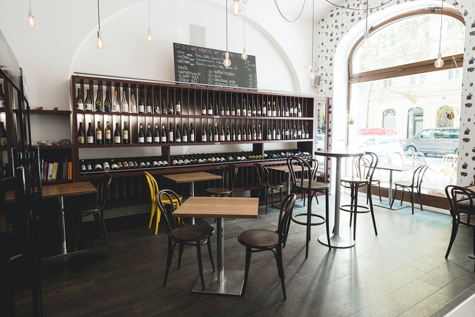 Veltlin, the city's first natural wine bar, is Prague's leader in natural wine.
