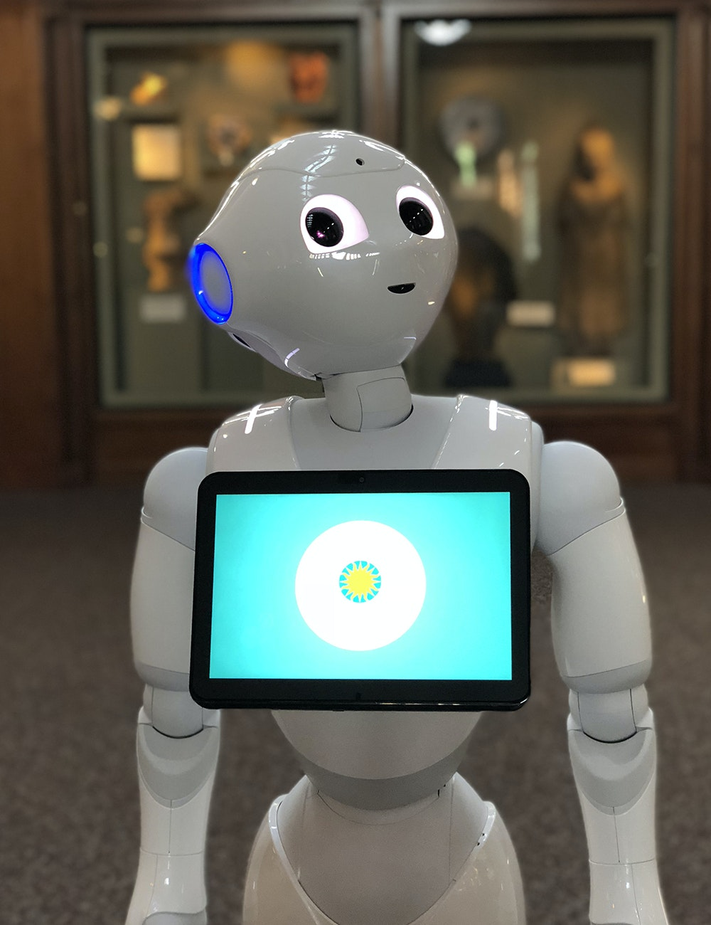 The Smithsonian's new guide, Pepper.