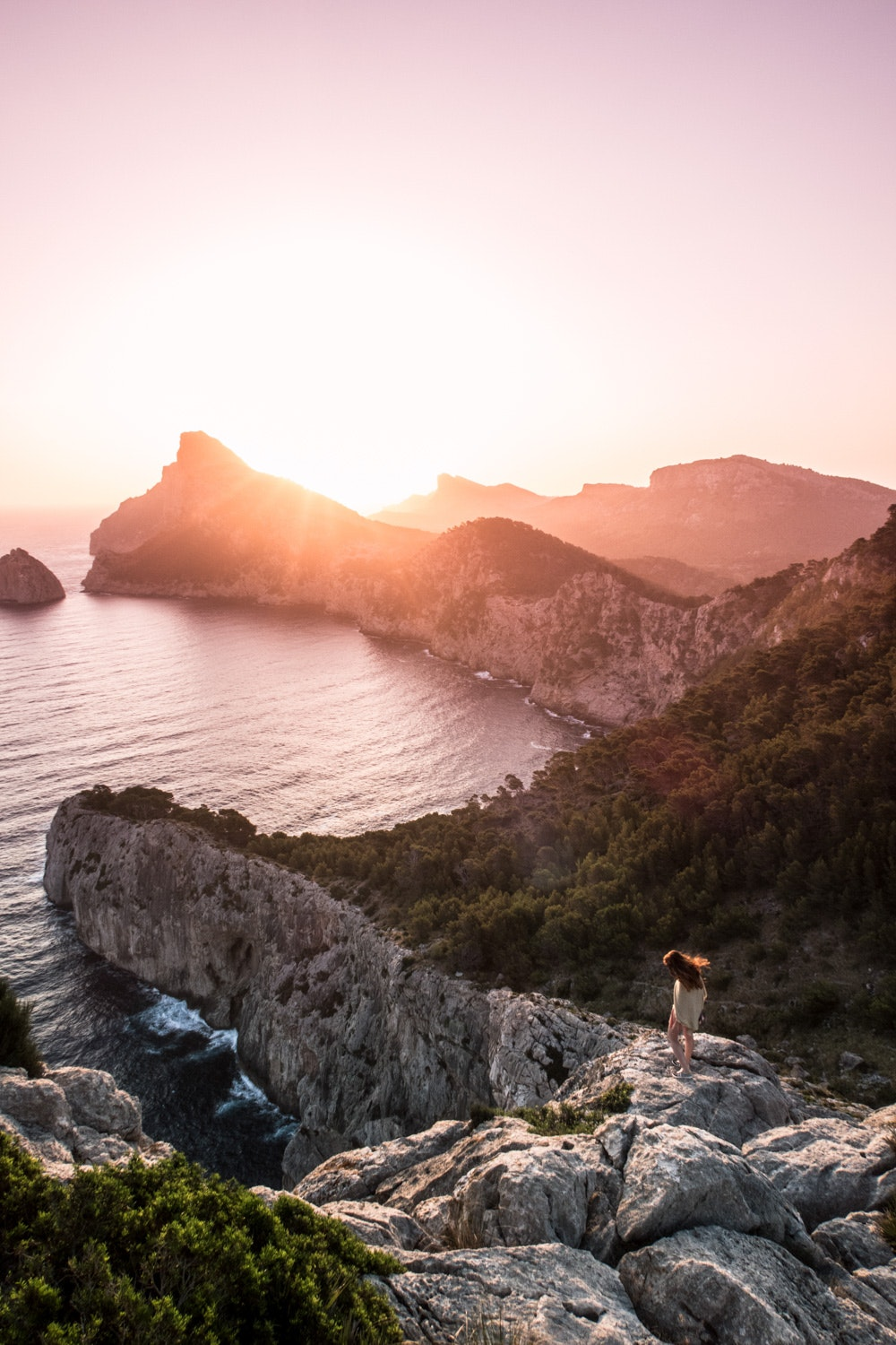Rudya isn't normally an early riser, but this sunrise walk on the Spanish island of Mallorca was well worth it.