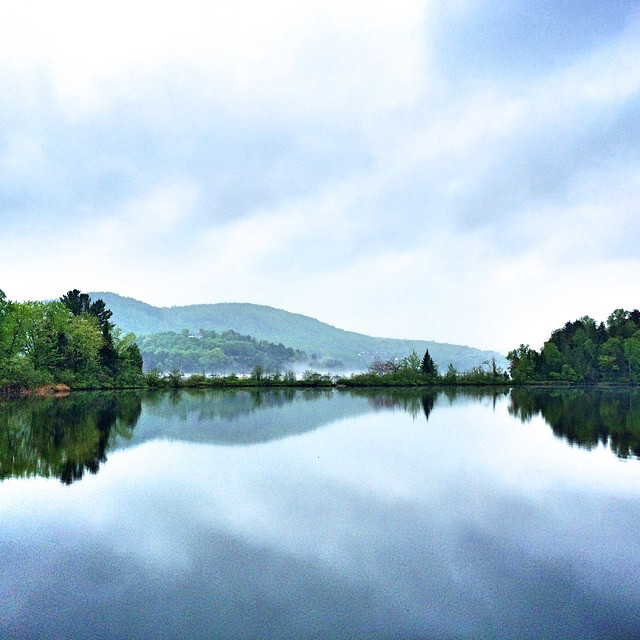 We can't get over this beautiful view at Fairmont Tremblant.