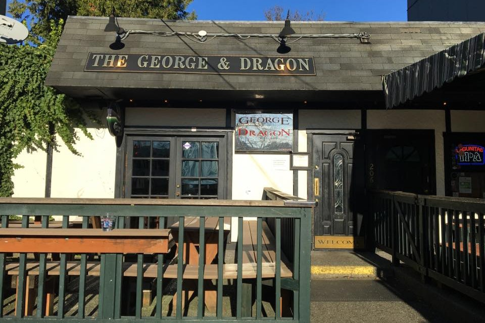 The George & Dragon is a British-style pub in Seattle.
