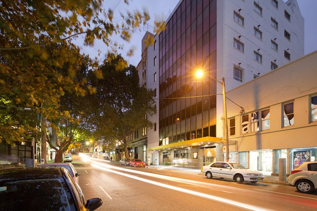 The stylish Surry Hills, home to the 57 Hotel.