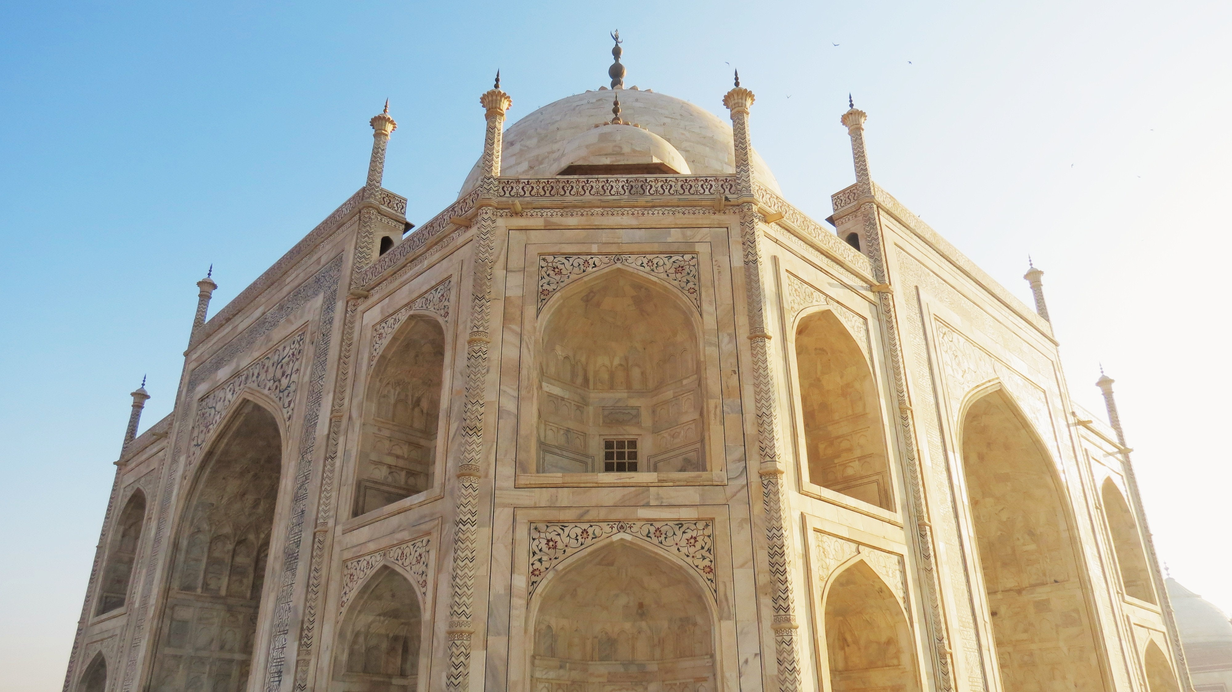 The Taj Mahal's identical sides