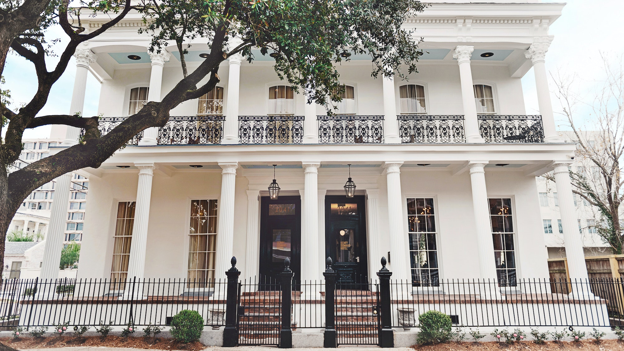 The Henry Howard Hotel in the Garden District exudes old-school elegance.