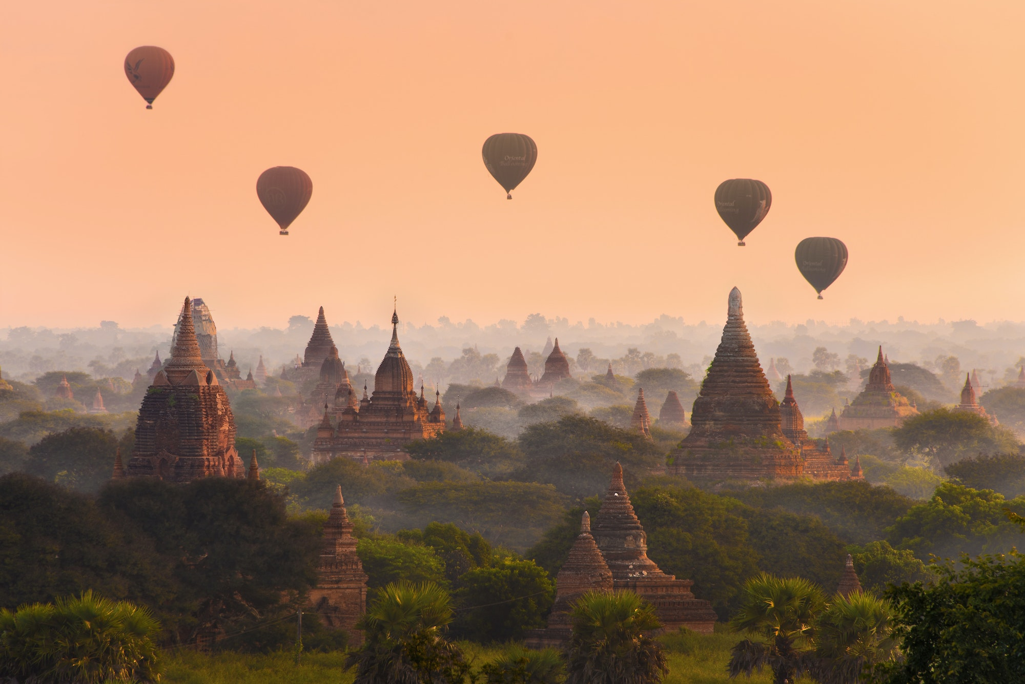 Bagan was the capital of the Kingdom of Pagan (the kingdom that first unified Myanmar) from the 9th to the 13th centuries.