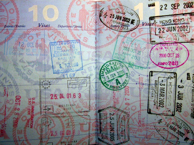 Many countries require U.S. travelers to present entry visas on arrival.