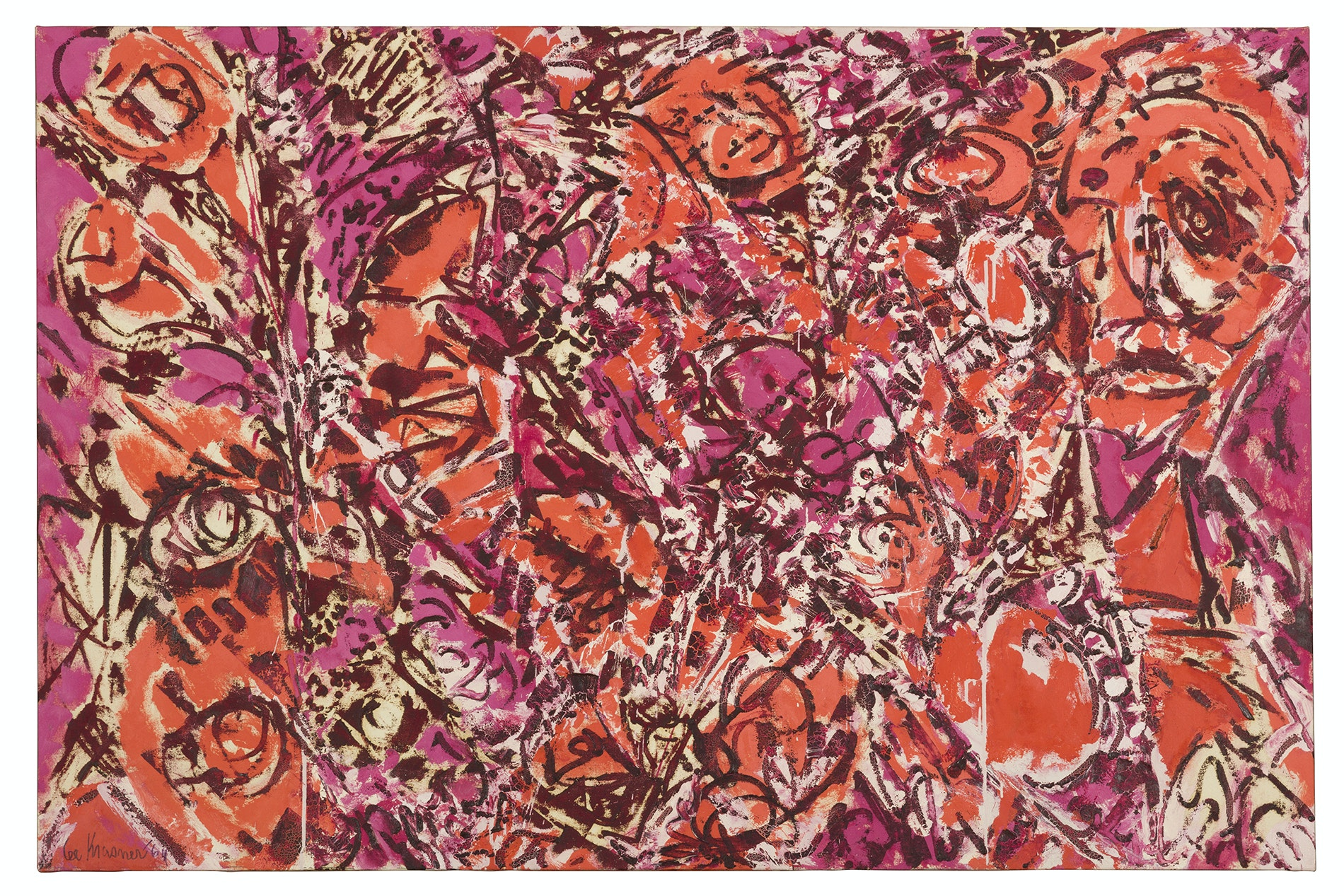"""Lee Krasner's """"Icarus"""" painting is part of the Barbican Gallery exhibition."""