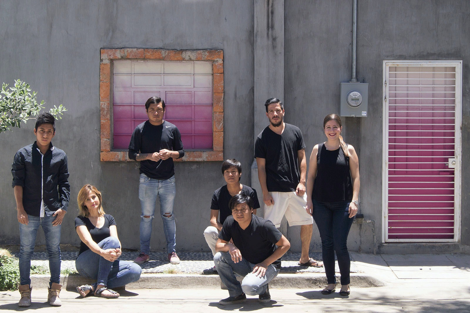 The team of young creatives at Dolce Utopia