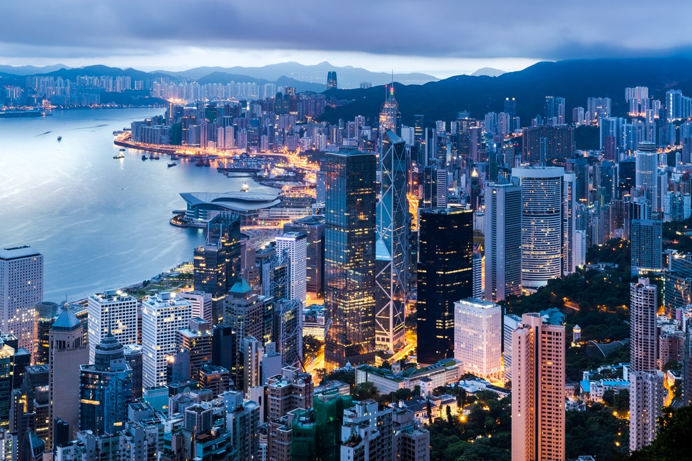 Hong Kong is home to more than 7 million people.