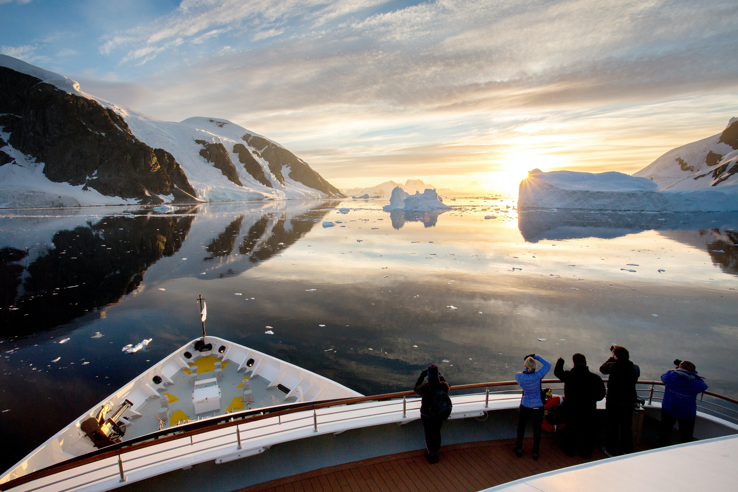 A voyage with Silversea Expeditions means personalized service and luxury adventure.