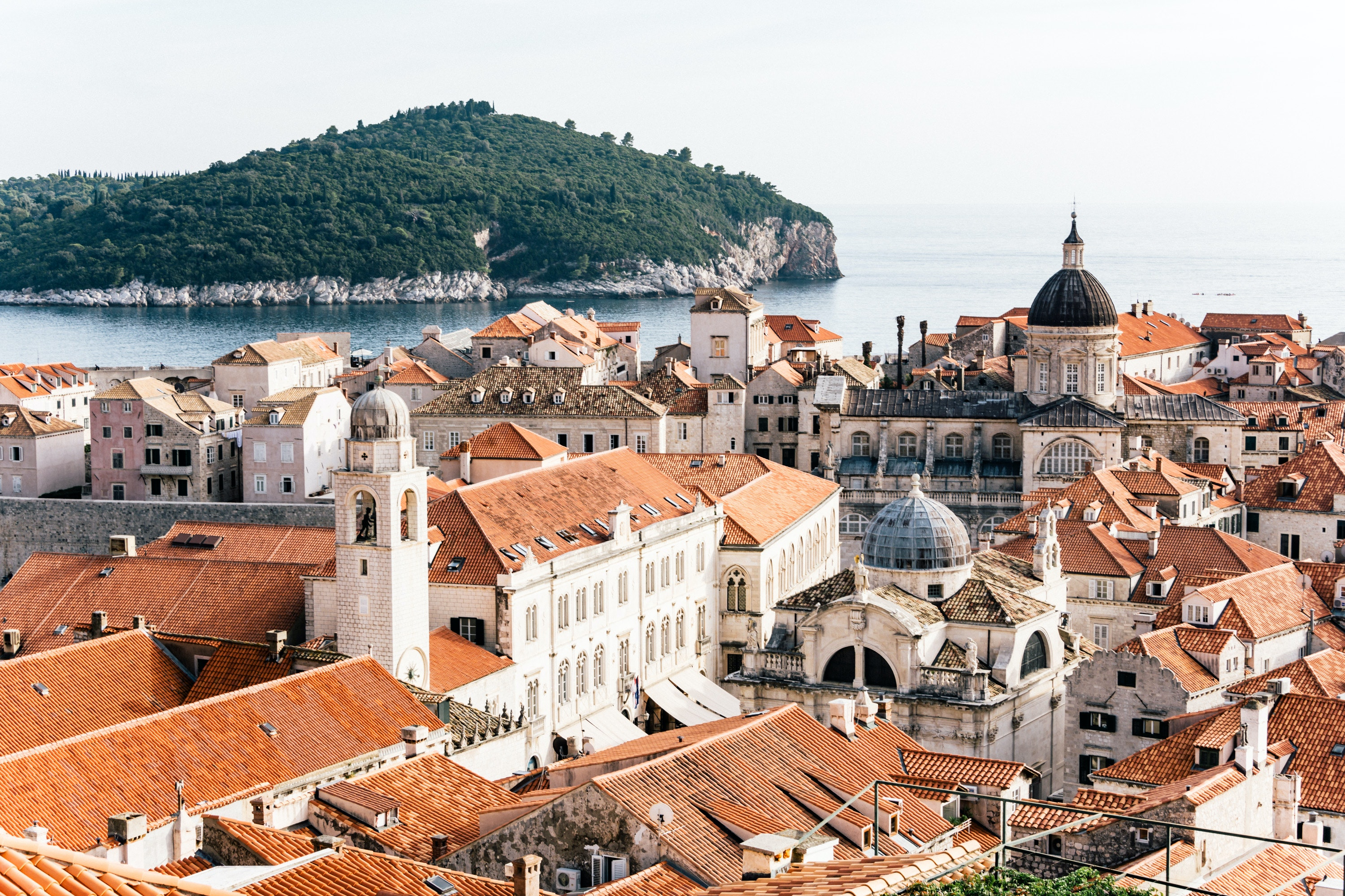 """Dubrovnik, nicknamed the """"Pearl of the Adriatic,"""" was granted UNESCO World Heritage status in 1979."""