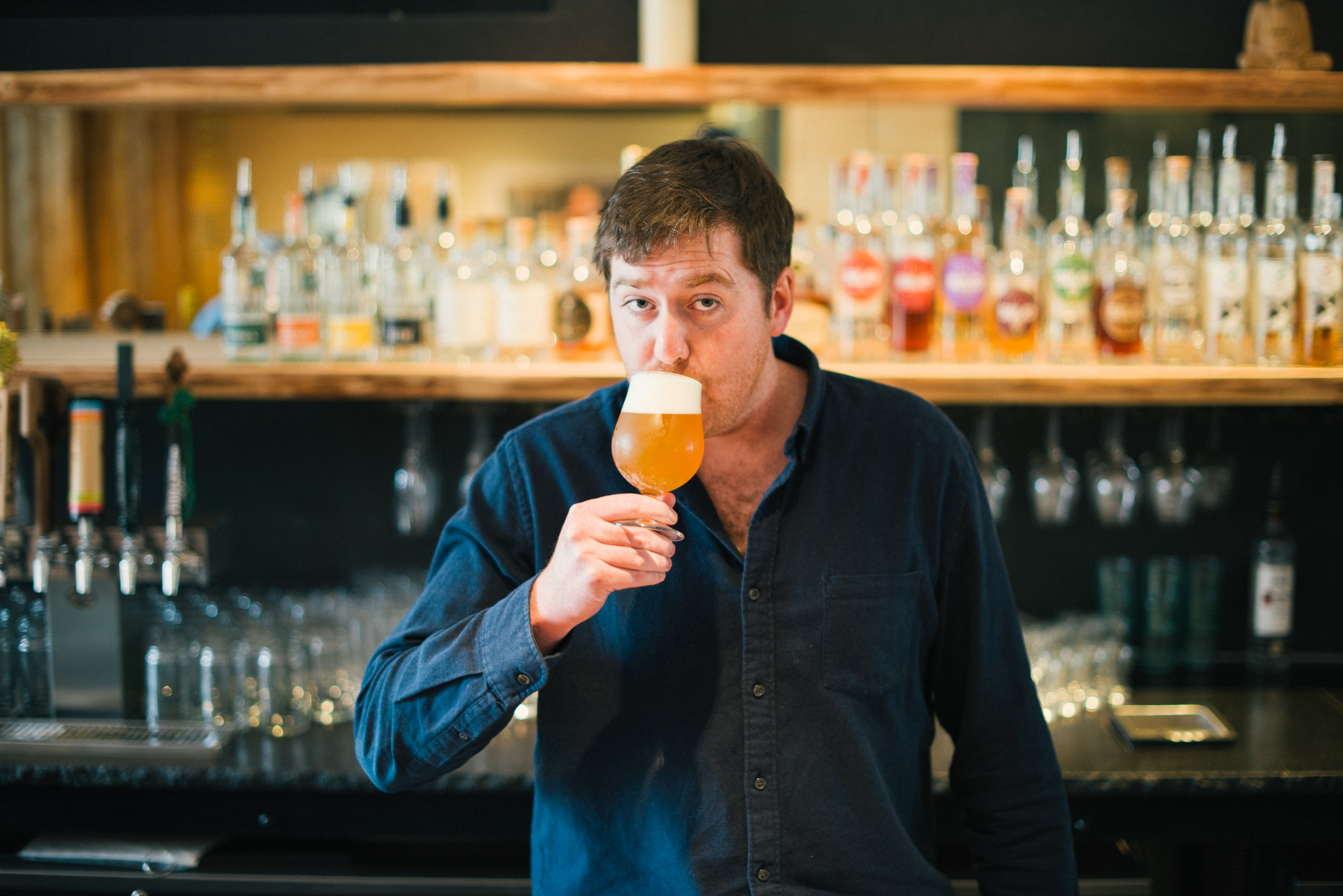 Matt Canning is the beer concierge at Hotel Vermont in Burlington, Vermont. Yes, that's a real job.