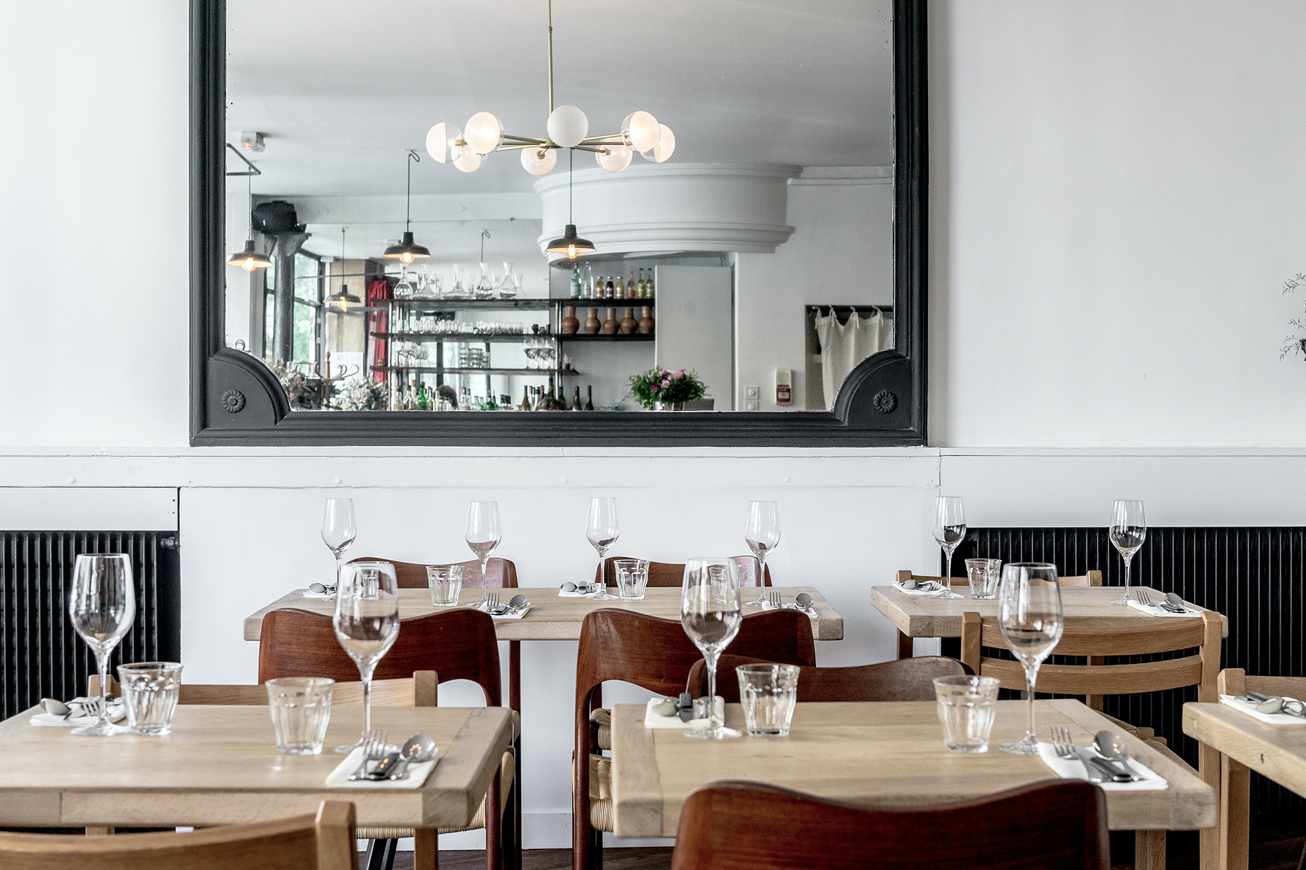 Robert offers French classics with Australian and British touches.