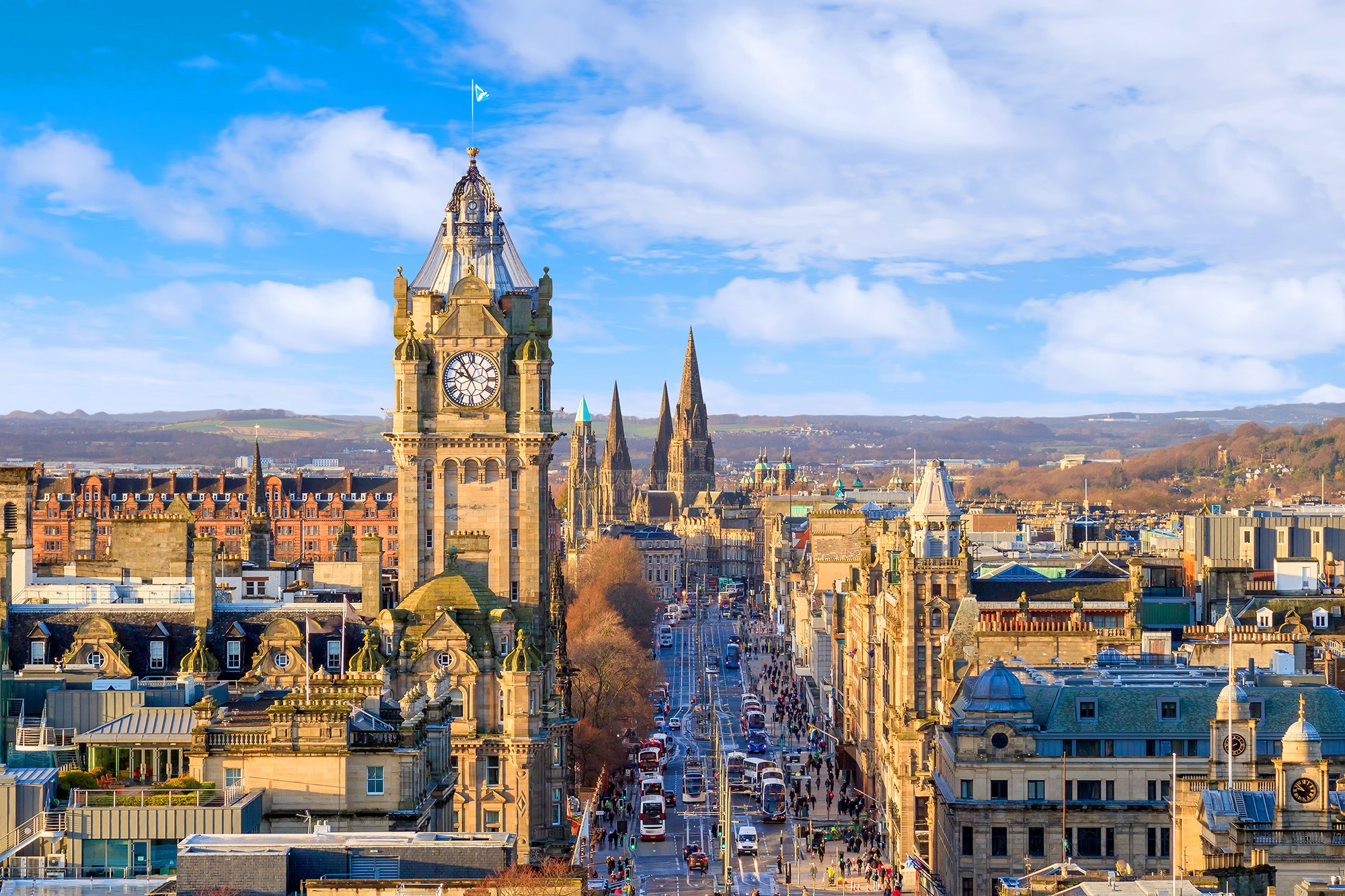 Direct flights to Edinburgh begin next spring from Boston.
