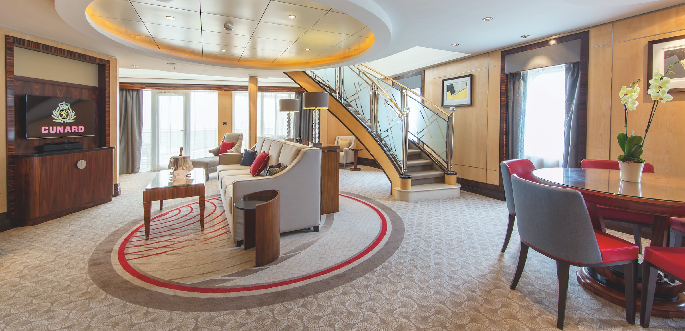 Upgrade a transatlantic crossing by booking a Queens Grill suite on the Queen Mary 2.