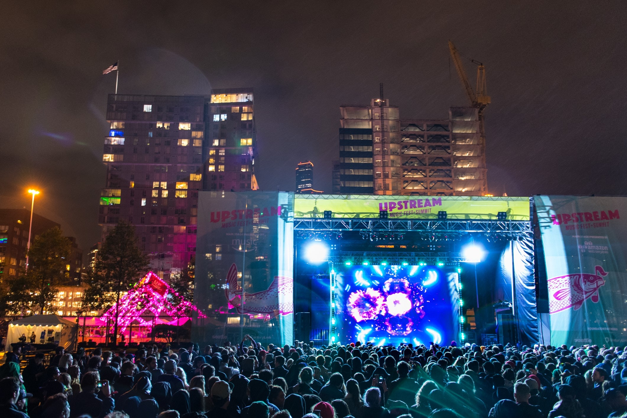 The main stage at Upstream 2017. This year's festival is June 1-3.