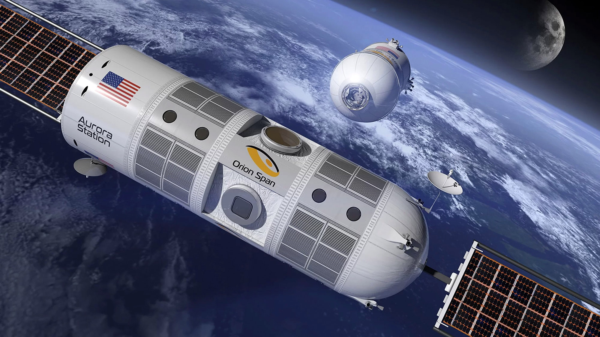 The hotel will orbit Earth every 90 minutes, which means those aboard will see an average of 16 sunrises and sunsets every 24 hours.