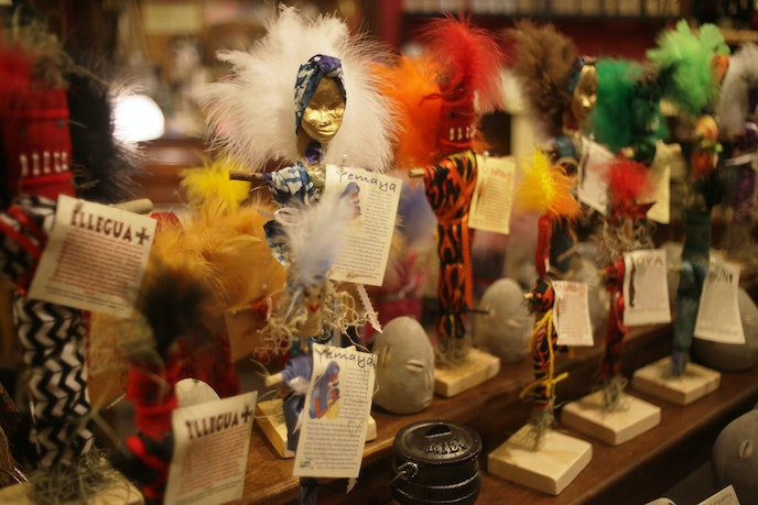 Voodoo beliefs and practices are entwined with the city's identity.