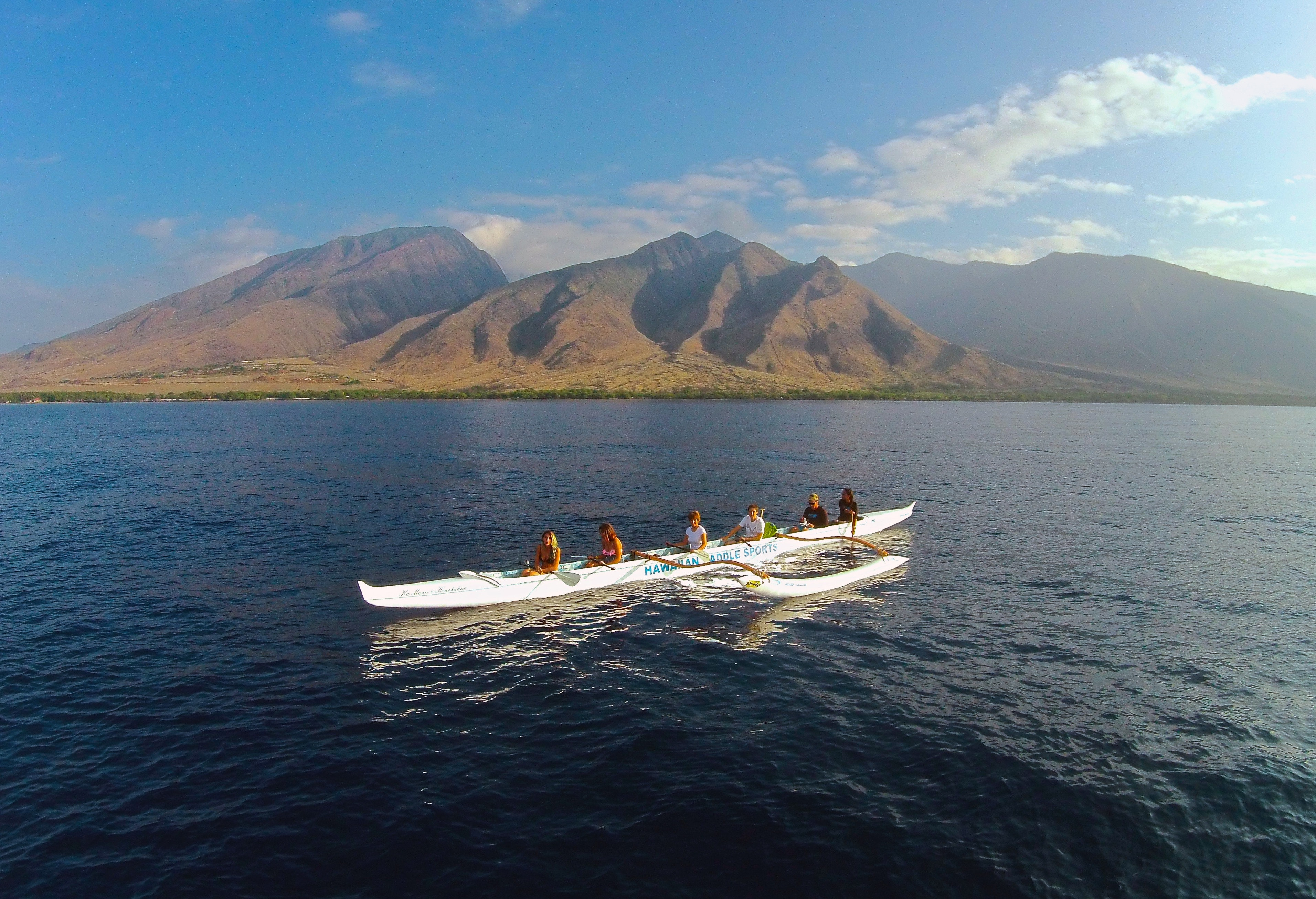 Go for a paddle with Hawaiian Paddle Sports